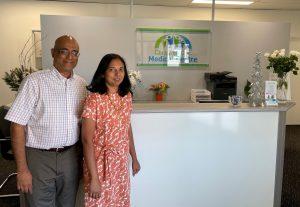 Dr Kotha and Vidhya